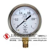 不锈钢耐震压力表Y-100BFZ