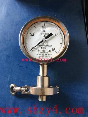 板式平焊法兰径向压力表